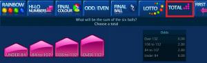 cara bermain toto draw final mode