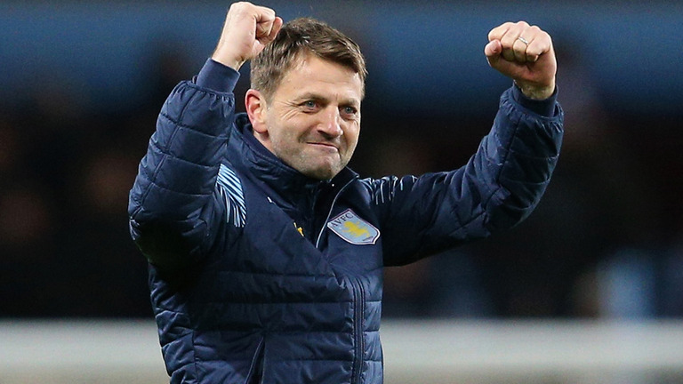 Tim Sherwood mengatakan Aston Villa dapat Mengalahkan United
