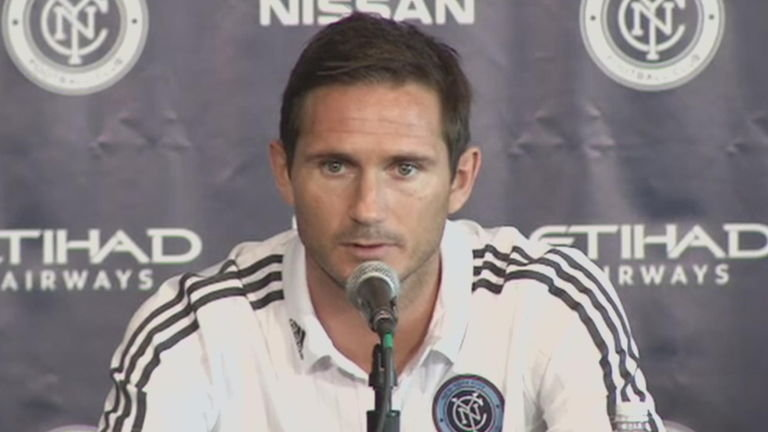 Agen Sbobet - Frank Lampard kehilangan pertandingan New York City FC Vs Toronto